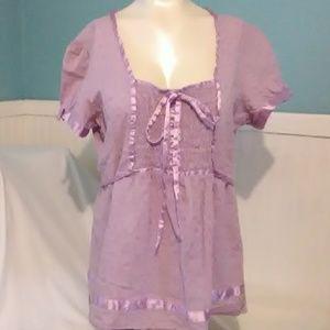 Antilia Femme Short Sleeve Blouse